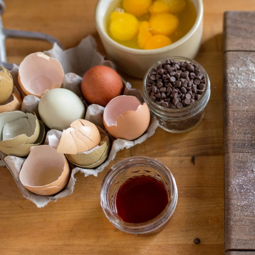 delicious ingredients used for conscious baking experience