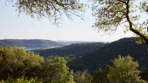 Beautiful view of nature from our Austin, Texas resort