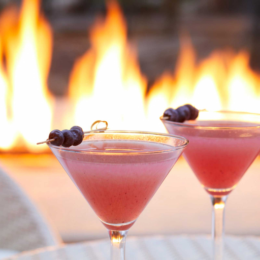 two red martinis